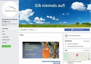 AA & PNH e.V. - Titelseite Facebook